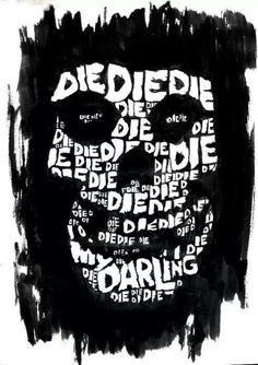 misfits die die my darling Rock Posters, Band Posters, Concert Posters, Arte Punk, Punk Art, Punk Rock, Misfits Band, Rock Y Metal, Danzig Misfits