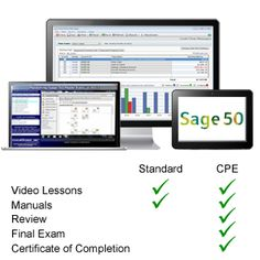 Sage 50 tutorial course from TeachUcomp, Inc. Get over 5 hours of Sage 50 training video tutorials. Sage Accounting, Sage 50, Certificate Of Completion, Final Exams, Continuing Education, Training Courses, Resume, Knowledge, Job Seekers