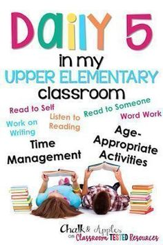 Classroom Tested Resources: Daily 5 in my Upper Elementary Classroom