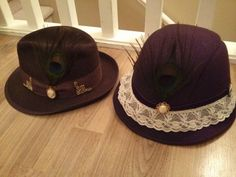 Steamy Hats #3 and #4