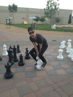 """<3 ...""""It's wizard's chess Mr. Potter"""""""