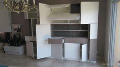 Dernière réalisation un buffet vaisselier sur-mesure #design #mobilier #meuble #madeinfrance #vaisselier #buffet