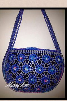 . Pop Tab Purse, Pop Can Crafts, Pop Can Tabs, Crochet Rings, Soda Tabs, Recycle Cans, Pop Cans, Recycled Art, Crochet Projects