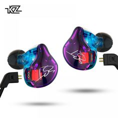 Sport Center: Cheap Price KZ ZST Pro Armature Dual Driver Earphone Detachable Cable In Ear Audio Monitors Noise Isolating HiFi Music Sports Earbuds Sport Earbuds, Wireless Earbuds, Bluetooth Speakers, Audio, Self Design, Resin Material, Noise Cancelling, Headset
