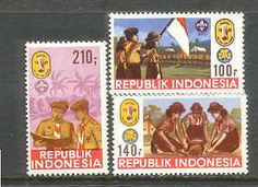 INDONESIA 1986 National BOY SCOUT JAMBOREE Girl Guides