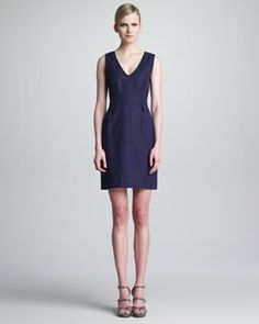kate spade new york nmx mira sleeveless v-neck dress