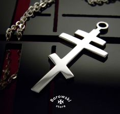 Сross pendant free shipping  Stainless steel от BorowskiStore