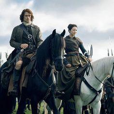 Jamie y Claire    2x09 Je Suis Prest  Repost @OutlanderOnline (Twitter)  #JamieFraser  #ClaireFraser  #JamieClaire  #Outlander  #OutlanderSeason2