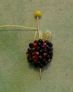 Hi!  Today I finally had a go at creating a simple beaded berry slip and, as I took photos of the whole process, I thought you'd enjoy shari...