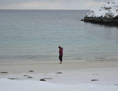 Beach weather in Northern Norway #Hammerfest #Forsøl # #Finnmark #Norway