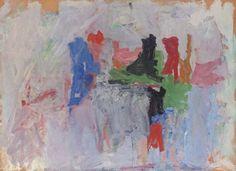 Phillip Guston.  Painting.