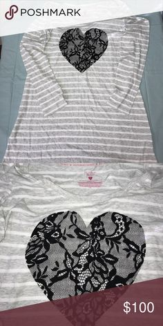 PRICE DROP Victoria Secret Sleep Shirt Size L 🔹Victoria Secret Long Sleeve SleepShirt🔹 🔹Size L🔹 🔹Never Worn but has no tags🔹 🔹Fabric: 60% Cotton 40% Polyester 🔹 🔹NO Damage, Snags or Stains, SMOKE FREE HOME🔹 PINK Victoria's Secret Tops