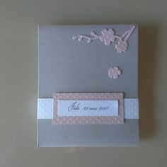 cool Idées cadeaux pour la fête des mères 2017  - Mini album photos - Modèle Fleurs de cerisier - Idée fête des mères - Cadeau...