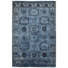 "Color Reform Silk Silk Rug - 5'11""x9'2"""