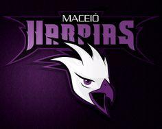 Maceió Harpias by Prispa Castelo Branco, via Behance