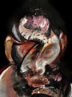 Francis Bacon, Two Studies for Portrait, 1976 Francis Bacon, Oil Portrait, Abstract Portrait, Abstract Oil, Bacon Painter, Michel Leiris, Pablo Picasso, Paint Photography, Painting Art