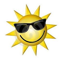 Cartoon Sun Wearing Dark Glasses Stock Illustration - Illustration of shades, isolated: 4609238 Cartoon Sun, Happy Sun, Sun Designs, Vector Clipart, Photo Online, Illustrations, My Sunshine, Smiley, Pikachu