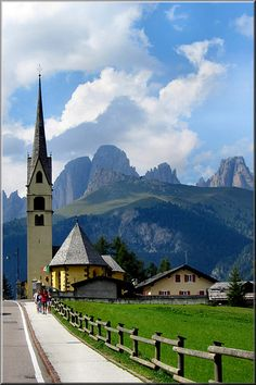 Alba di Canazei,Trentino Italy.  Trentino is an autonomous province of Italy. Trentino is, along with South Tyrol, one of the two provinces which make up the region of Trentino-Alto Adige/Südtirol, which itself is an autonomous region. The province is divided into 217 comuni. Wikipedia