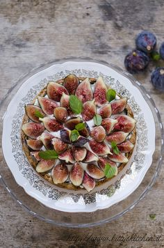 crostata ai fichi copia by Elisakitty's Kitchen, via Flickr