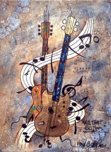 giclee prints of musical artwork, music paintings, jazz and blues paintings by Virgil C. Stephens