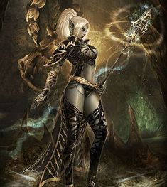 Dark Elf Art
