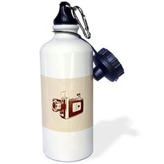 21 oz Stainless Steel Water Bottle with Straw Theme: Squirrel New Years Ralph Waldo Emerson Quote, Color: Beige Workout Pictures, Fitness Pictures, Emerson Quotes, Water Bottle With Straw, Ralph Waldo Emerson, Stainless Steel Water Bottle, High Gloss, Beige, Video Camera