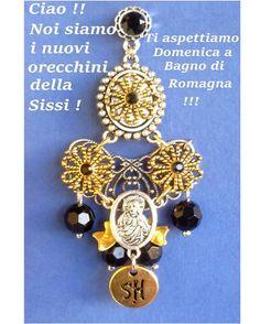 #bijouxfantaisie #sissihand #earrings #swarovski