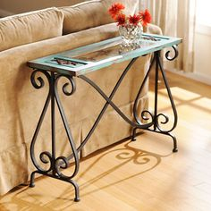 Blue Veracruz Console Table | Kirklands