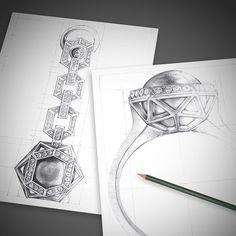 Inspiring jewelry illustration