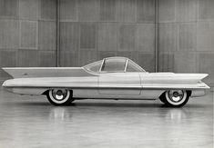 Lincoln Futura Concept that was later turned into the Batmobile in 1966 by the Barris Bros.