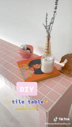 Diy Crafts Hacks, Diy Home Crafts, Fun Crafts, Diy Projects, Cute Room Decor, Diy Gifts, Diy Furniture, Easy Diy, Crafty