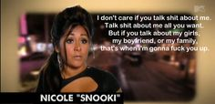 Snooki means business