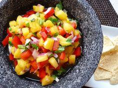Fast & Fresh Pineapple Salsa