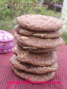 Cookies aux 3 chocolats : une tuerie !