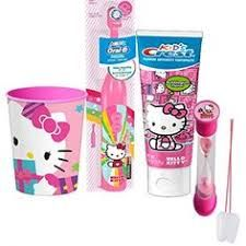 49bf86e39 Brushing, Mouthwash, Oral Hygiene, Hello Kitty, Smile, Spinning, Toys,