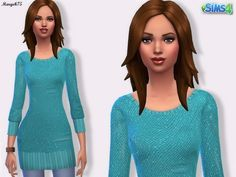 Sims 3 Addictions: Sims 4 Sequin Jumper