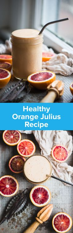Healthy Orange Julius Recipe | StupidEasyPaleo.com