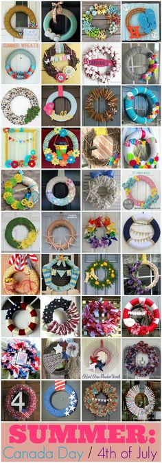 Best Summer Wreath Tutorials