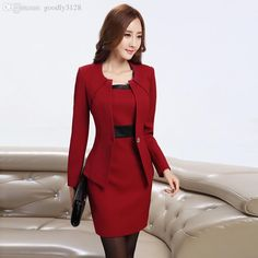 Sandi Pointe – Virtual Library of Collections woman dress suit - Woman Dresses Formal Wear Women, Formal Dresses For Women, Woman Dresses, Dresses For Work, Dresses Dresses, Womens Dress Suits, Suits For Women, Clothes For Women, Business Outfit
