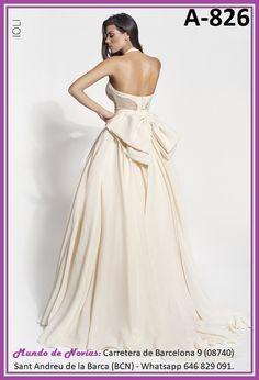 Exclusivo y Original Vestido de Novia Bohemio y Vintage realizado a mano hasta el último detalle.