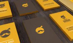 Restaurant Branding and UI/UX by Jekin Gala, via Behance