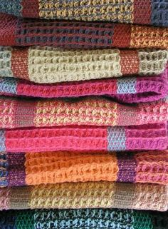 Designing With Color - Waffle Weave Kitchen Towels