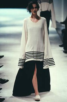 Yohji Yamamoto spring summer 1998. It may be a few years old but look at it. It still looks current & relevant.