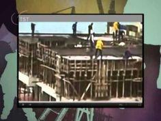 O video mostra alguns flagrantes de operários que se arriscam em obras, trabalhando sem equipamentos de proteção oi utilizando