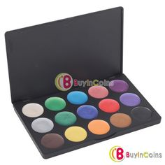 Pro 15 Color Cosmetic Makeup Natural Eye Shadow Eyeshadow Cream Palette Set -- BuyinCoins.com
