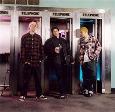 The Beastie Boys in Roseland, New York City, 1992