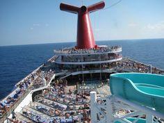 Carnival Triumph...Jackson's 2nd Cruise 2010.