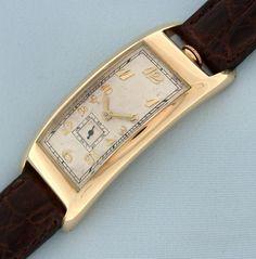 Vintage Wrist Watch - Movado Polyplan