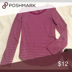 Eddie Bauer Size Small Long Sleeve Striped New w/out tags.  Size Small   Thank you SO much for visiting my Posh Closet.  If you have questions just let me know.  Feel free to make an offer and/or bundle.  Happy Shopping!!! 💕💕💕 Tops Tees - Long Sleeve