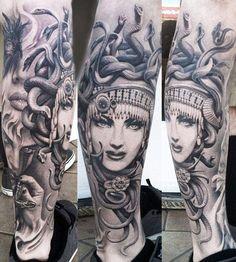 Realism Woman Tattoo by Josh Duffy Tattoo - http://worldtattoosgallery.com/realism-woman-tattoo-by-josh-duffy-tattoo/